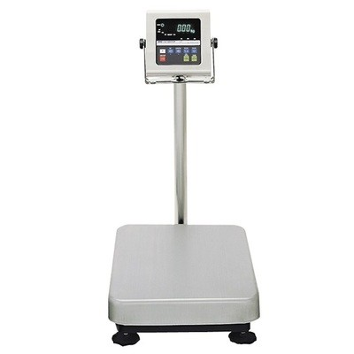 A&D Weighing® HW-100KWP Washdown Bench Scale  (200 lb. x 0.02 lb.)