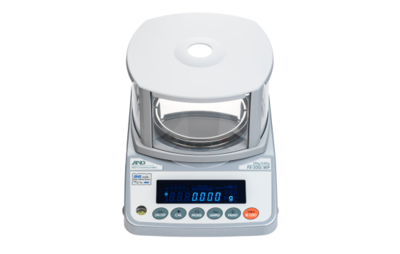 A&D Weighing® FZ-200iWP Waterproof Milligram Balance     (220g. x 1.0mg.)