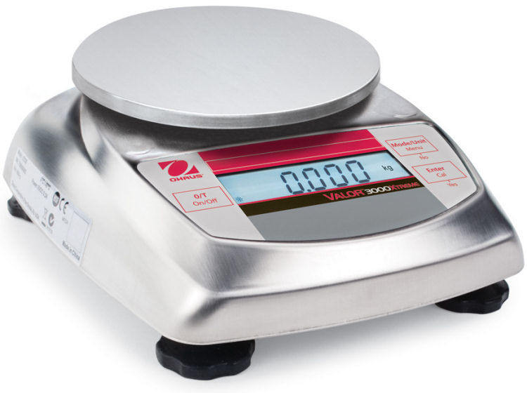 Ohaus V31X501 Valor 3000 Food Scale    (500g. x 0.1g.)