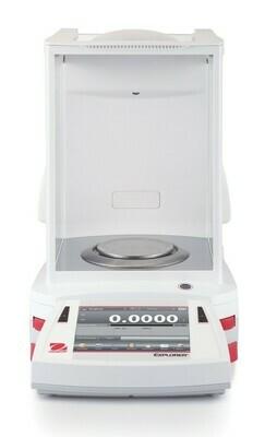 Ohaus® EX225D/AD Semi-Micro Explorer™ Balance  |  (120g. x 0.01mg. + 220g. x 0.1mg.)