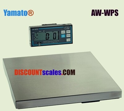 Yamato® AW-WPS 'NSF' Wireless Platform Scale   (30 lb. x 1/8 oz.)