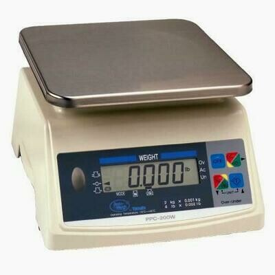 Yamato® PPC-200W-40 Washdown Portion Control Scale  (40 lb. x 0.02 lb.) -  'NTEP Approved' ONLY $368!