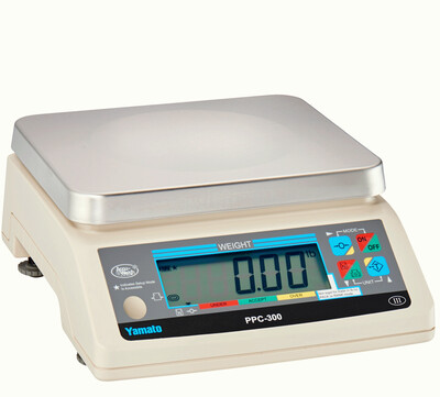 Yamato® PPC-300-4 Portion Control Scale (4.4 lb. x 0.002 lb.) -  'NTEP Approved' ONLY $275!