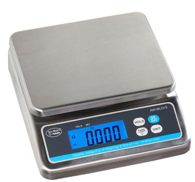 Yamato® AW-WLG 15 Washdown Portion Control Scale (0-15 lb. x 0.005 lb. + 15-30 lb. x 0.01 lb.) ONLY $275!
