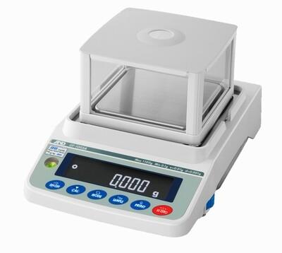A&D Weighing® GF-1603A Milligram Apollo™ Balance  (1000g. x 1.0mg. | 1600g. x 0.002g.)