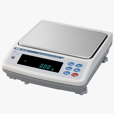 A&D Weighing® GX-8K2 Industrial Balance  (8100g. x 0.1g. + 2100g. x 0.01g.)