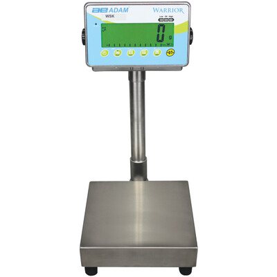 Adam Equipment® WSK 70a Washdown Scale  (70 lb. x 0.005 lb.)