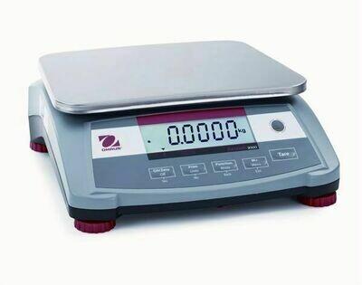 Ohaus® R31P6 Ranger™ 3000 Compact Bench Scale  (15.0 lb. x 0.0005 lb.)