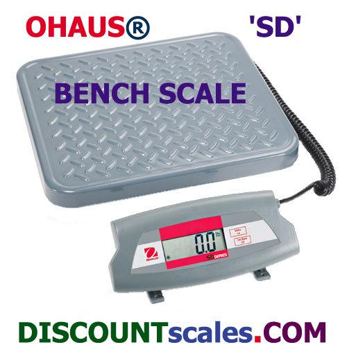 Ohaus SD75L  (165 lb. x 0.1 lb.)
