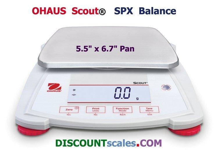 Ohaus SPX2201 Scout Balance (2200g. x 0.1g.)