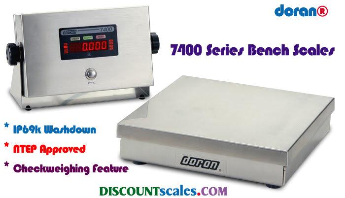Doran 7402 Bench Scale  (2 lb. x 0.0005 lb.)