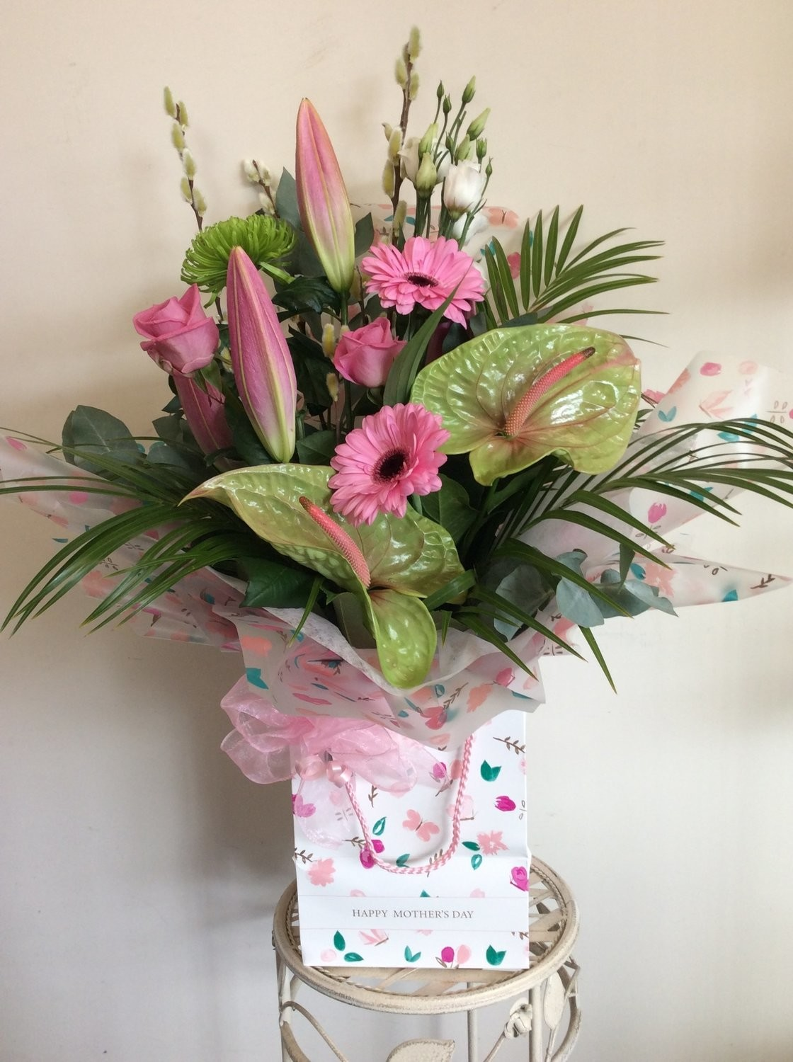 Luxury Mother's Day Aqua Bouquet