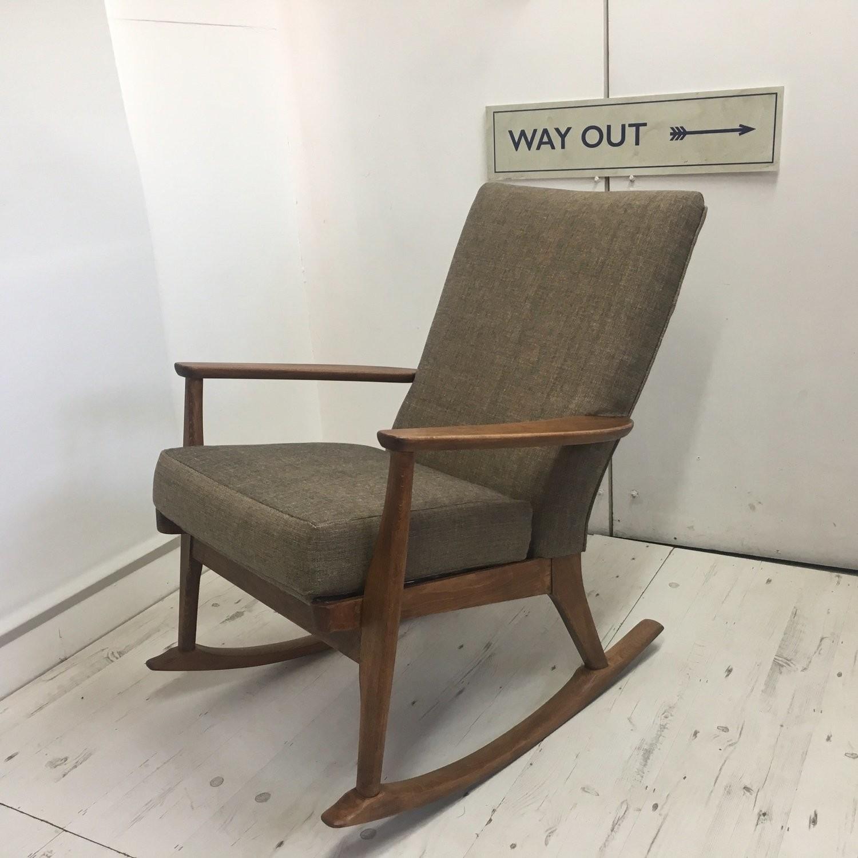 Groovy Parker Knoll Rocker 973 4 1960S Machost Co Dining Chair Design Ideas Machostcouk