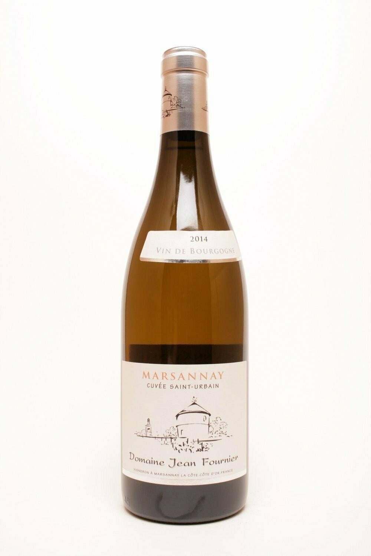 """Domaine Jean Fournier Marsannay blanc """"Cuvée Saint Urbain"""" 2014"""