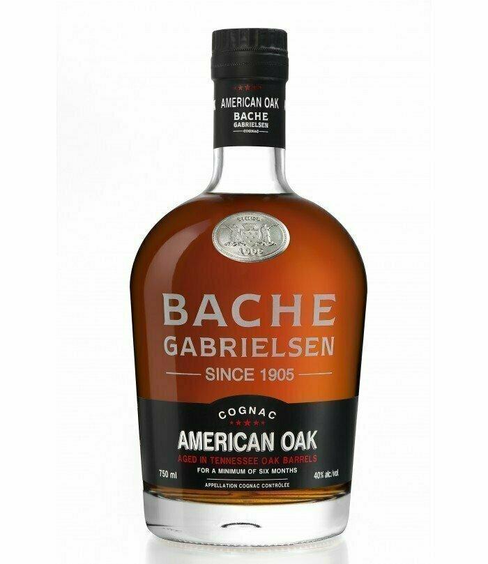 Bache-Gabrielsen Cognac American Oak 40%  70cl