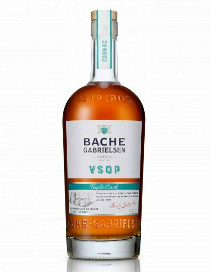 Bache-Gabrielsen Cognac VSOP Triple Cask 40%  70cl