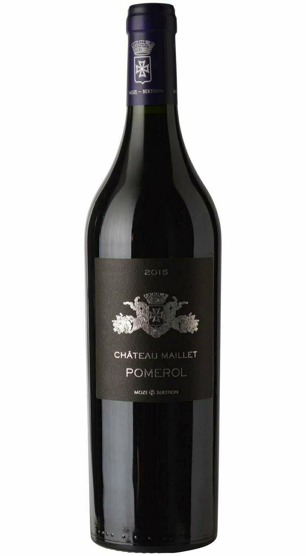 Château Maillet Pomerol  2016        case of 6