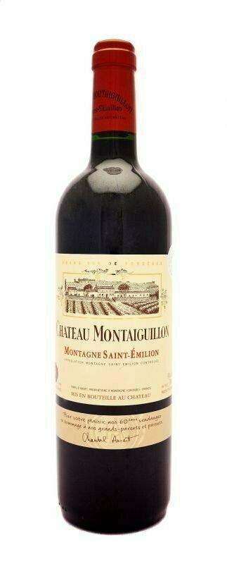 Château Montaiguillon Montagne Saint-Emilion 2015