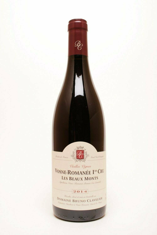 Domaine Bruno Clavelier Vosne-Romanée 1° cru  Les Beaux Monts VV 2015