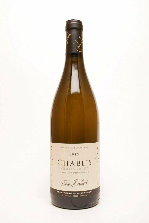 Domaine Julien Baillard Chablis Vieilles Vignes 2015