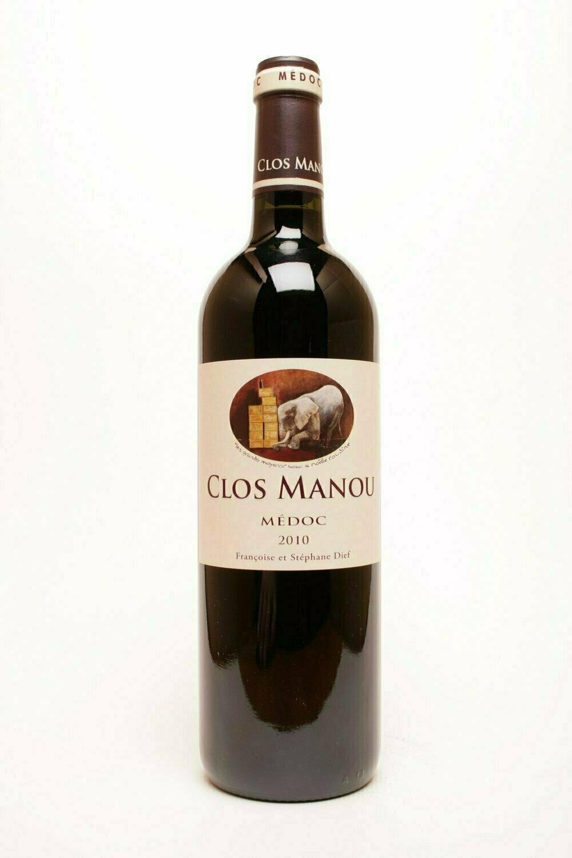 Clos Manou  Médoc 2010