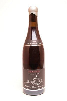 Domaine Jean Fournier Bourgogne  Le Chapître Vieilles Vignes 2014