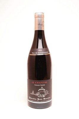 Domaine Jean Fournier Bourgogne  Le Chapître Vieilles Vignes 2015
