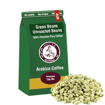 Arabica - Green Bean - Premium - Câu Dât