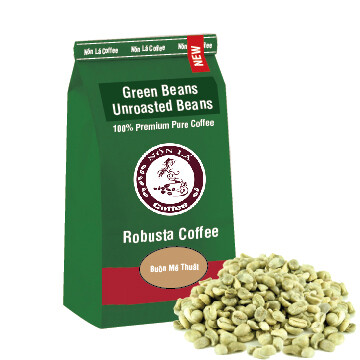 Robusta - Green Bean - Bảo Lộc