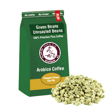 Arabica - Green Bean - Yellow Honey Caturra - Câu Dât