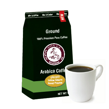 Cầu Đất Arabica. Honeyed Yellow Caturra