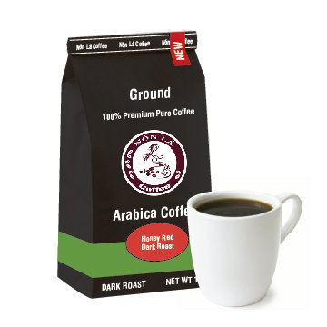 Cầu Đất Arabica. Honey Red Tipica - Dark Roast