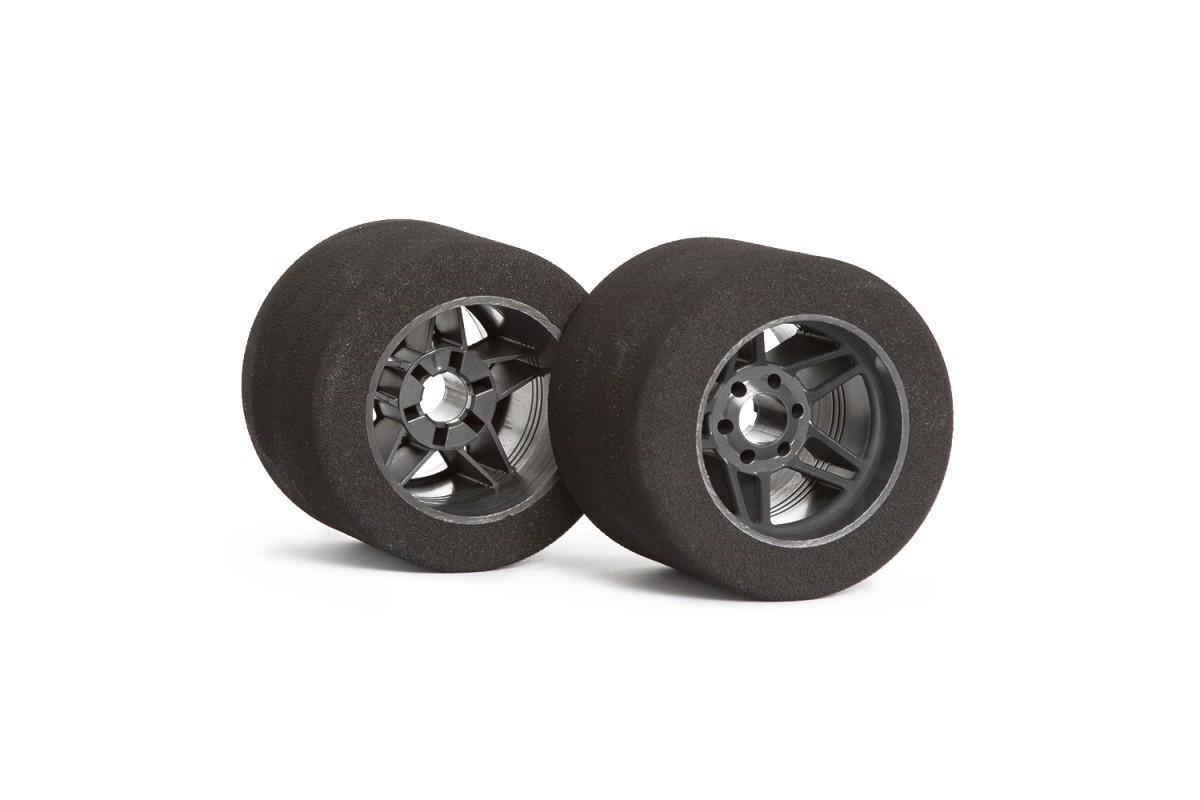 """Matrix 1/8 Rear """"Five"""" Carbon Tires"""