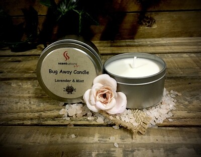 Bug Away Soy Candle