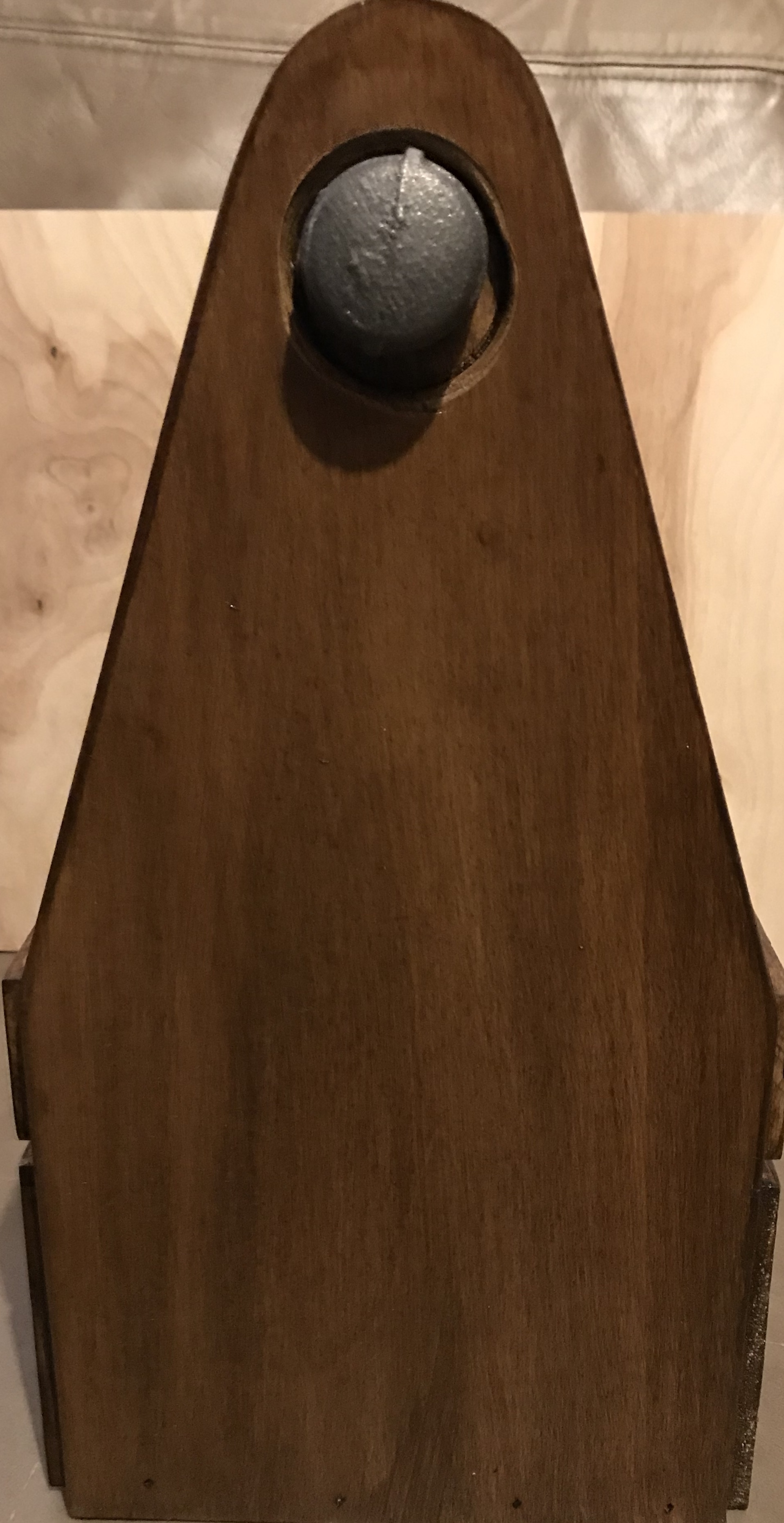 Handcrafted Wood Beverage Carrier