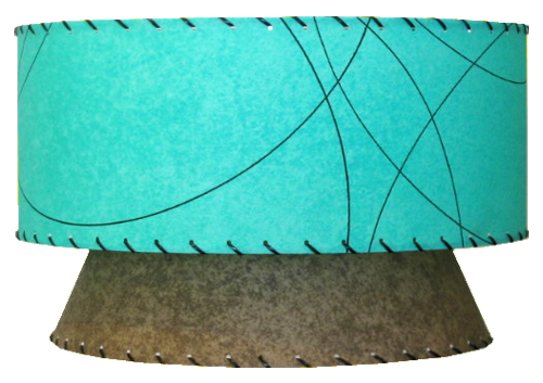 Small Reverse Atomic 2-Tier Pendant Lamp 00SRA2T-P