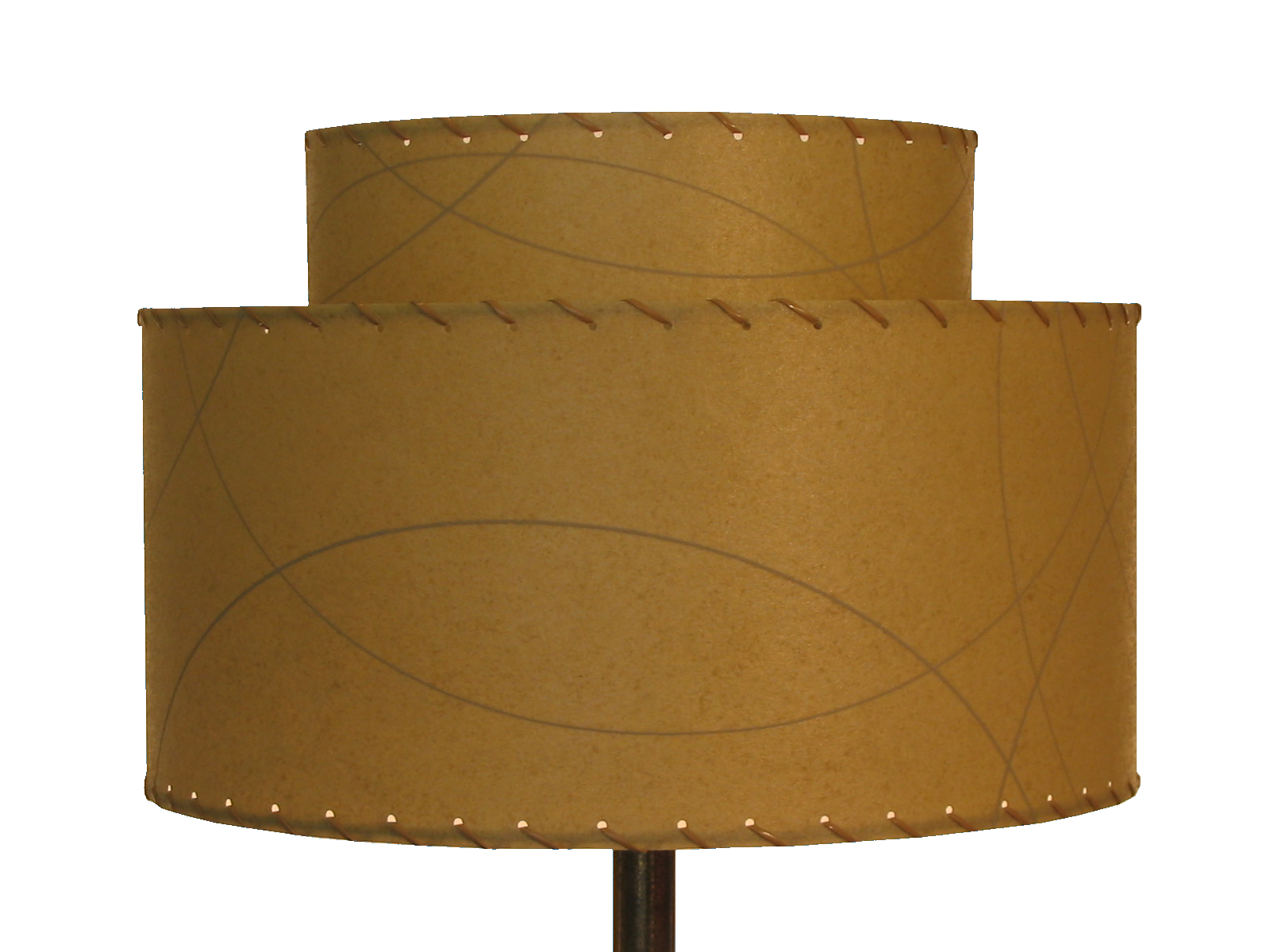 large 2-tier lampshade