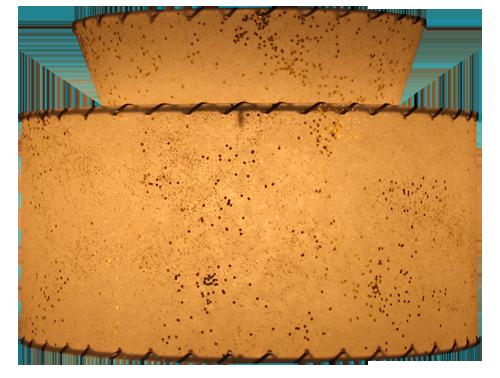 Large Atomic 2-Tier Pendant Lamp 00LA2T-P