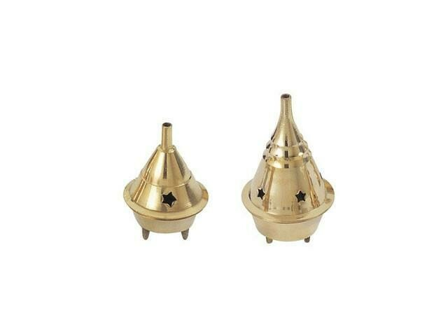 "Brass Cone Burners 2.5""H"