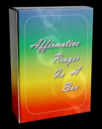 AFFIRMATIVE PRAYER IN A BOX (70 cards, boxed) by  Strayer, Anne