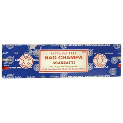 Sai Baba Nag Champa Incense 40 Gram Packs