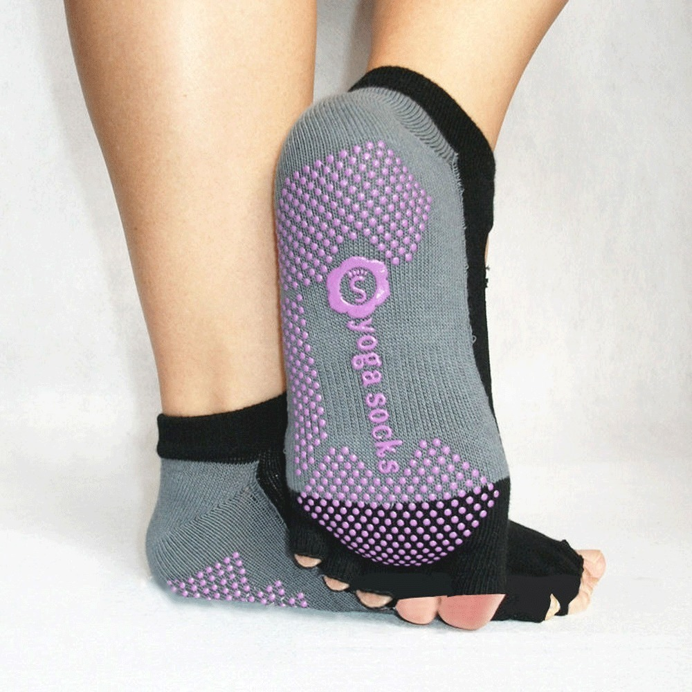 "Yoga Socks   ""open top"""