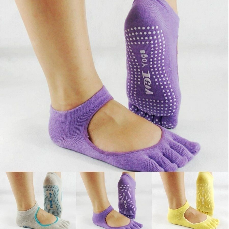 "Yoga Socks   ""open top"" Close toe ysm-sox-clstoe"