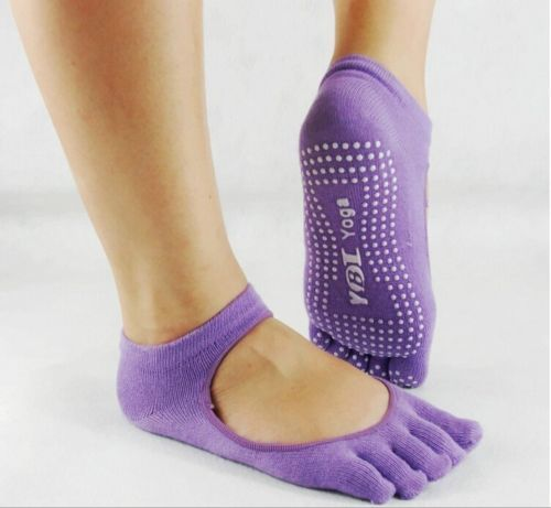 "Yoga Socks   ""open top"" Close toe"