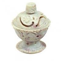 "INCENSE HOLDER, MINI LOTUS FLOWER CONE CUP (2.5"") 119187-9789991582863"