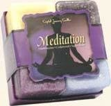 Candle  4 pc set Meditation (Frankincense, cederwood,sageand rose)