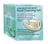 NASAL CLEANSING SALT 40 PACKET BOX (40 packs in box; to be used with Nasal & Neti Pots)