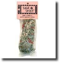 "Sage Spirit Sage/Cedar  Small  5"" Smudge Sticks 5270-9789991121246"