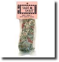 "Sage Spirit Sage/Cedar  Small  5"" Smudge Sticks"