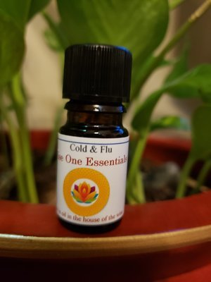 Cold & Flu Essential Oil Blend (5ml)